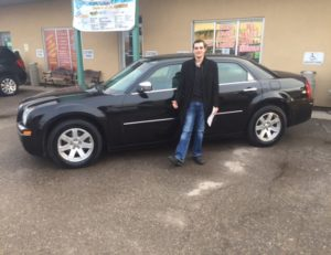 Jonah ready to roll with his 2007 300!