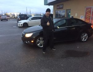 Ronald is really excited about his 2012 Cruze!!!