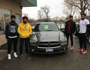Harvinder picks up his 2012 charger!