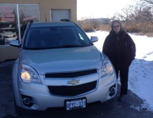 2010 Equinox found a home!