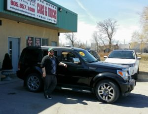Larry looking sharp with his 2007 Dodge Nitro!
