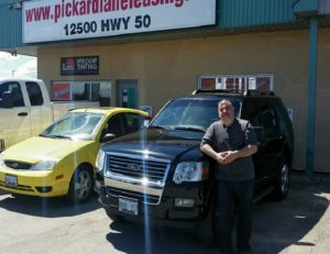 Bruce and his 2006 Explorer!