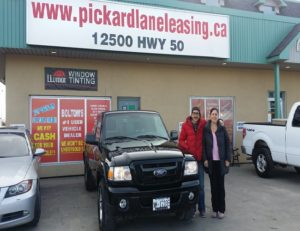Marilia and her 2011 Ranger