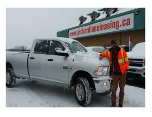 Paul and his Ram, bring on the snow!