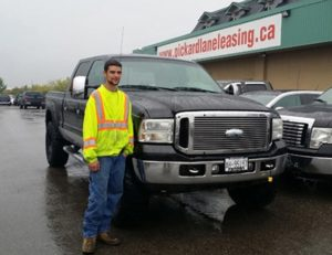 Andrew and his F250!