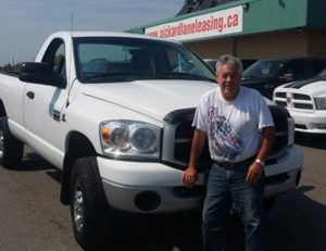 Barry and his new Ram!