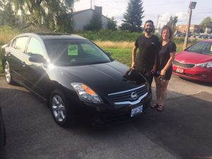 2009 Nissan Altima going home