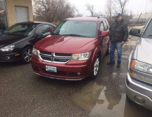2011 Dodge Journey ready to go!