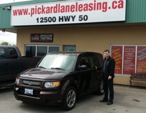 John picking up 2008 Element