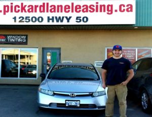 Scott looking good with his 2006 Honda Civic!