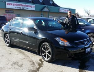Khawaja ready to enjoy his 2009 Altima!