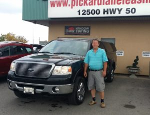 Mike and his 2008 F150